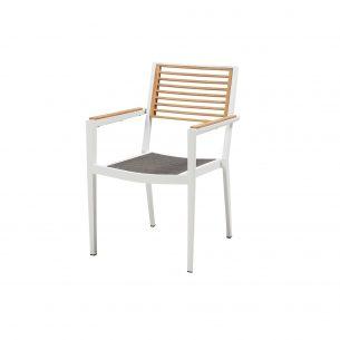 Champion כיסא אוכל לבן מוקטן